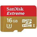 SANDISK Extreme U3 Micro SDHC 16GB [SDSDQXN-016G] - Micro Secure Digital / Micro Sd Card